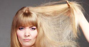 روش های خانگی برای درمان موهای آسیب دیده