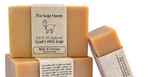 طرز تهیه صابون شیر بز برای نرمتر و صاف تر کردن پوست